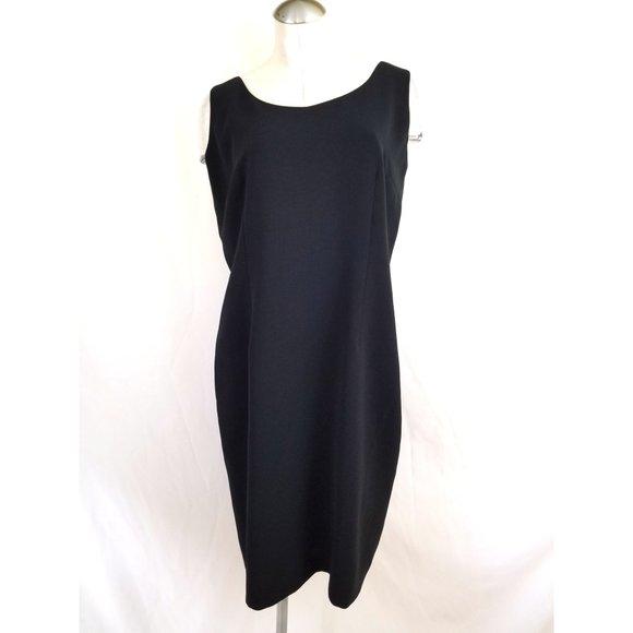 Nipon Boutique Dresses & Skirts - Nipon Boutique Size 16 Black Sheath Dress